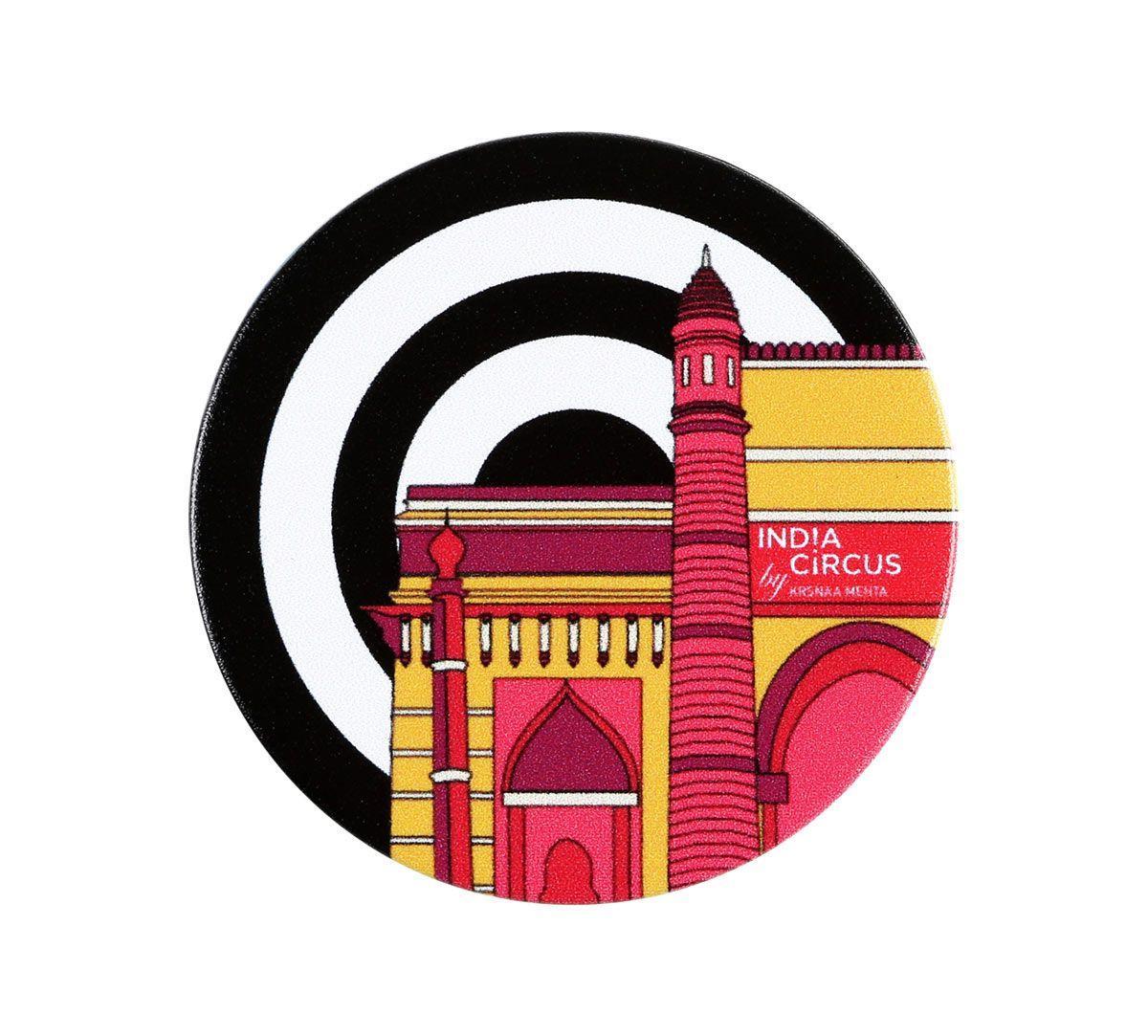 India Circus Monochromes and Monument Popsocket