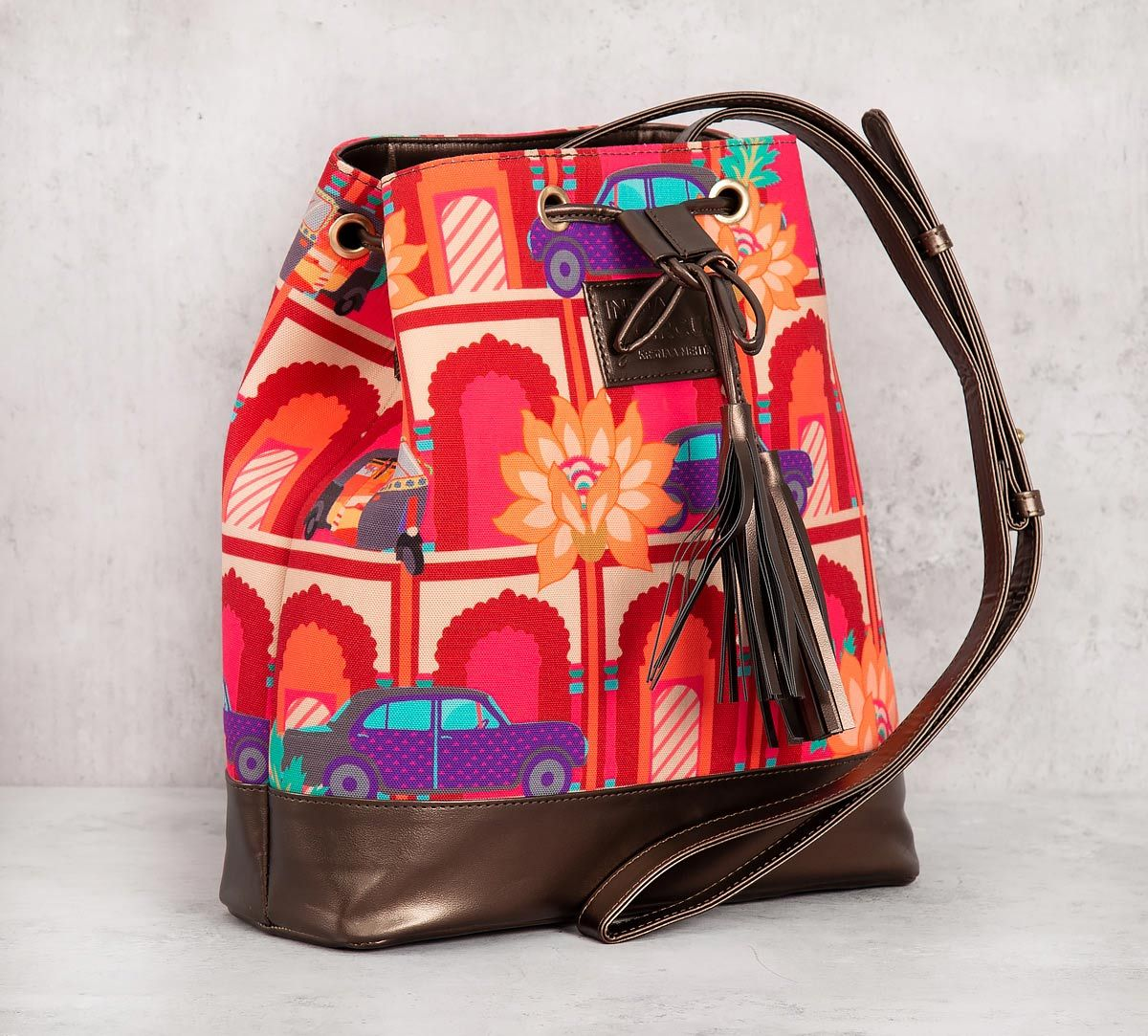 India Circus Mughal Concierge Hobo Bag