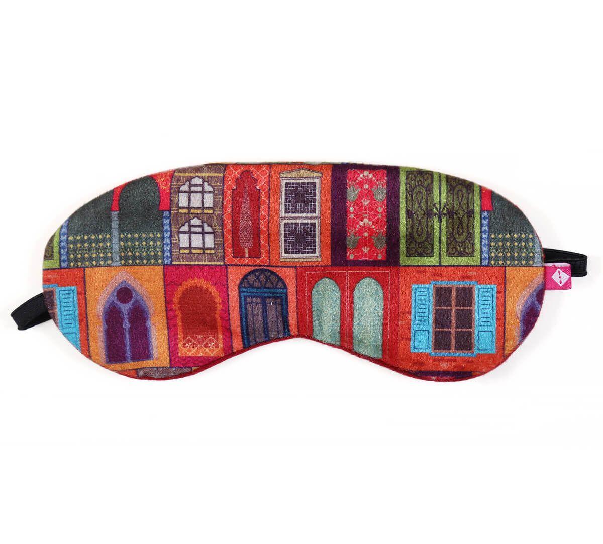 India Circus Mughal Doors Reiteration Eye Mask