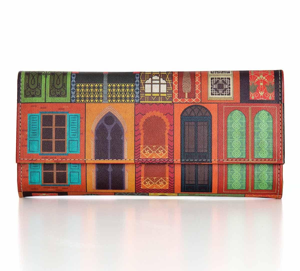 India Circus Mughal Doors Reiteration Ladies Wallet