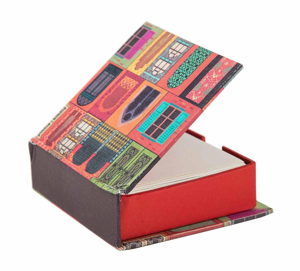 India Circus Mughal Doors Reiteration Memo Pad Box