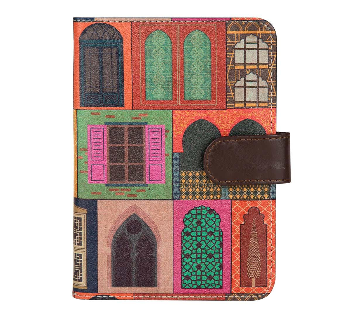 India Circus Mughal Doors Reiteration Passport Cover