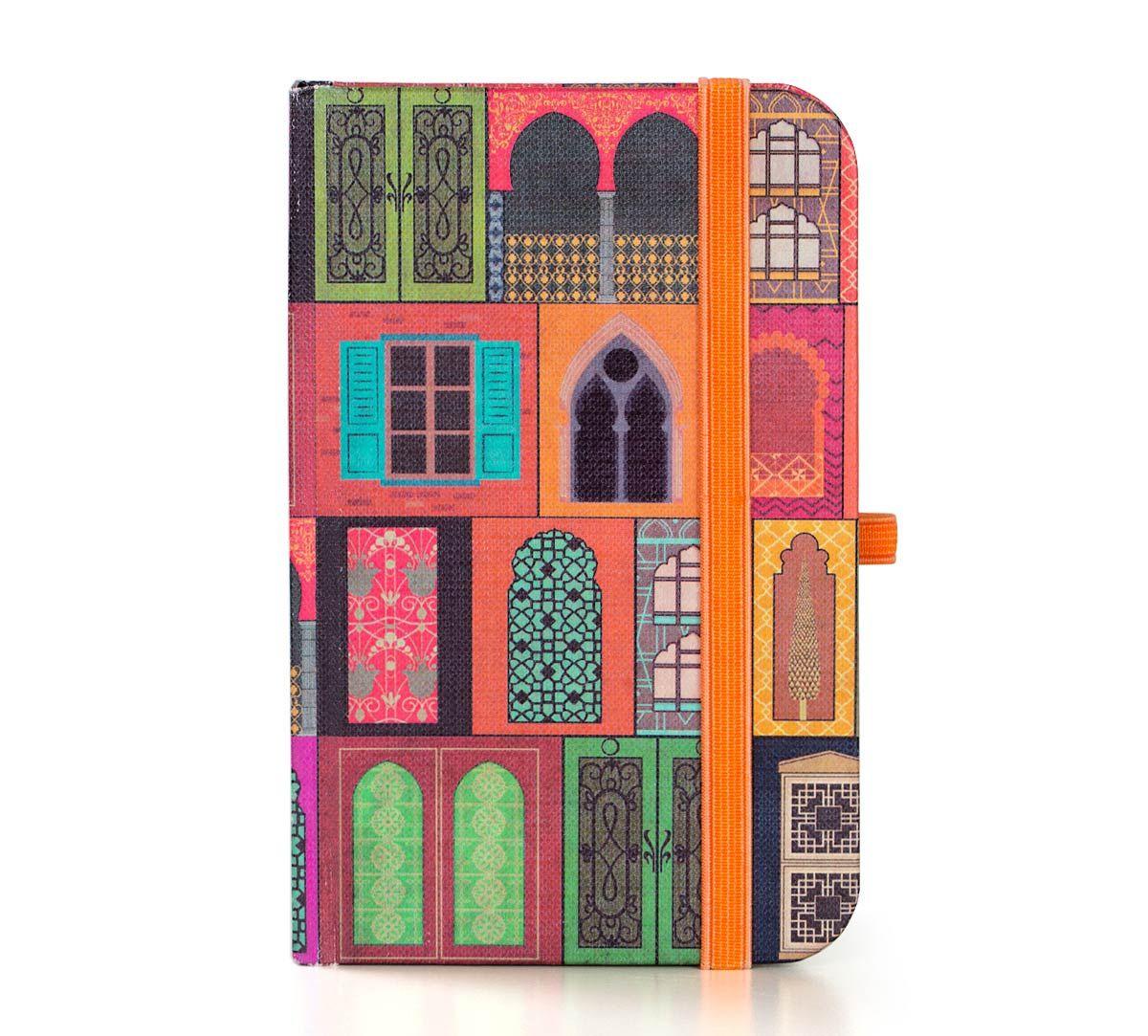 India Circus Mughal Doors Reiteration Pocket Diary