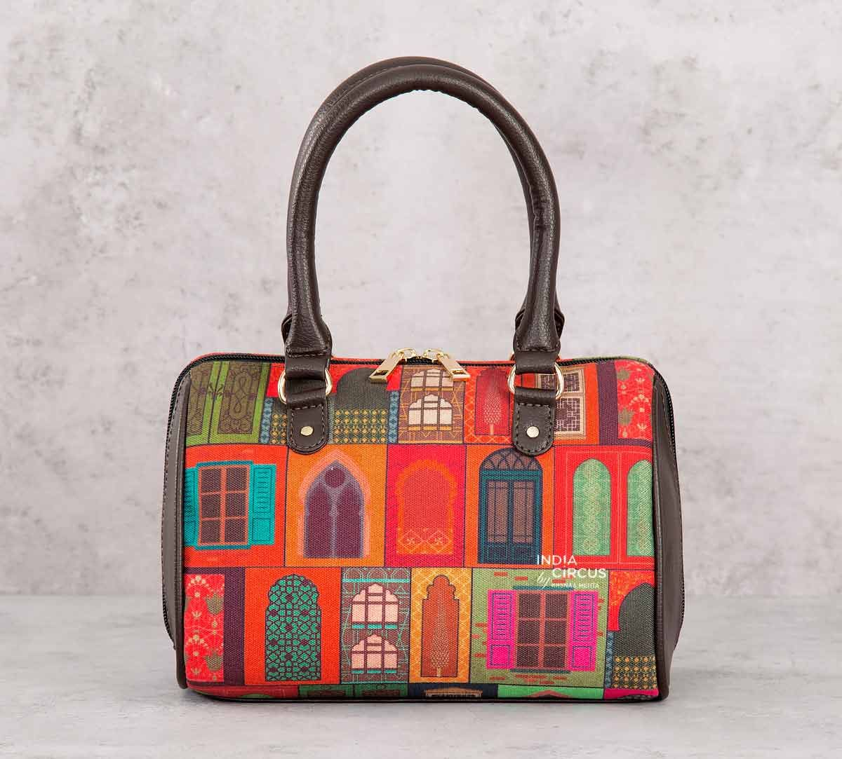 India Circus Mughal Doors Reiteration Small Duffle Bag