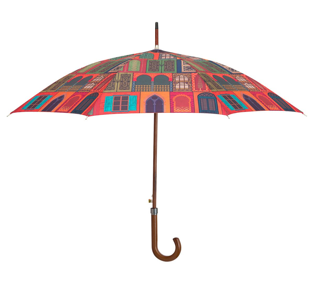 India Circus Mughal Doors Reiteration Umbrella