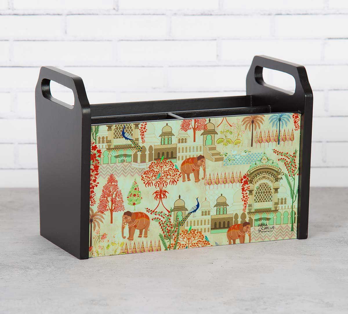 India Circus Mughal Treasures Desk Organizer
