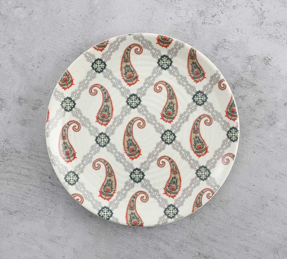 India Circus Paisley Prints Quarter Plate