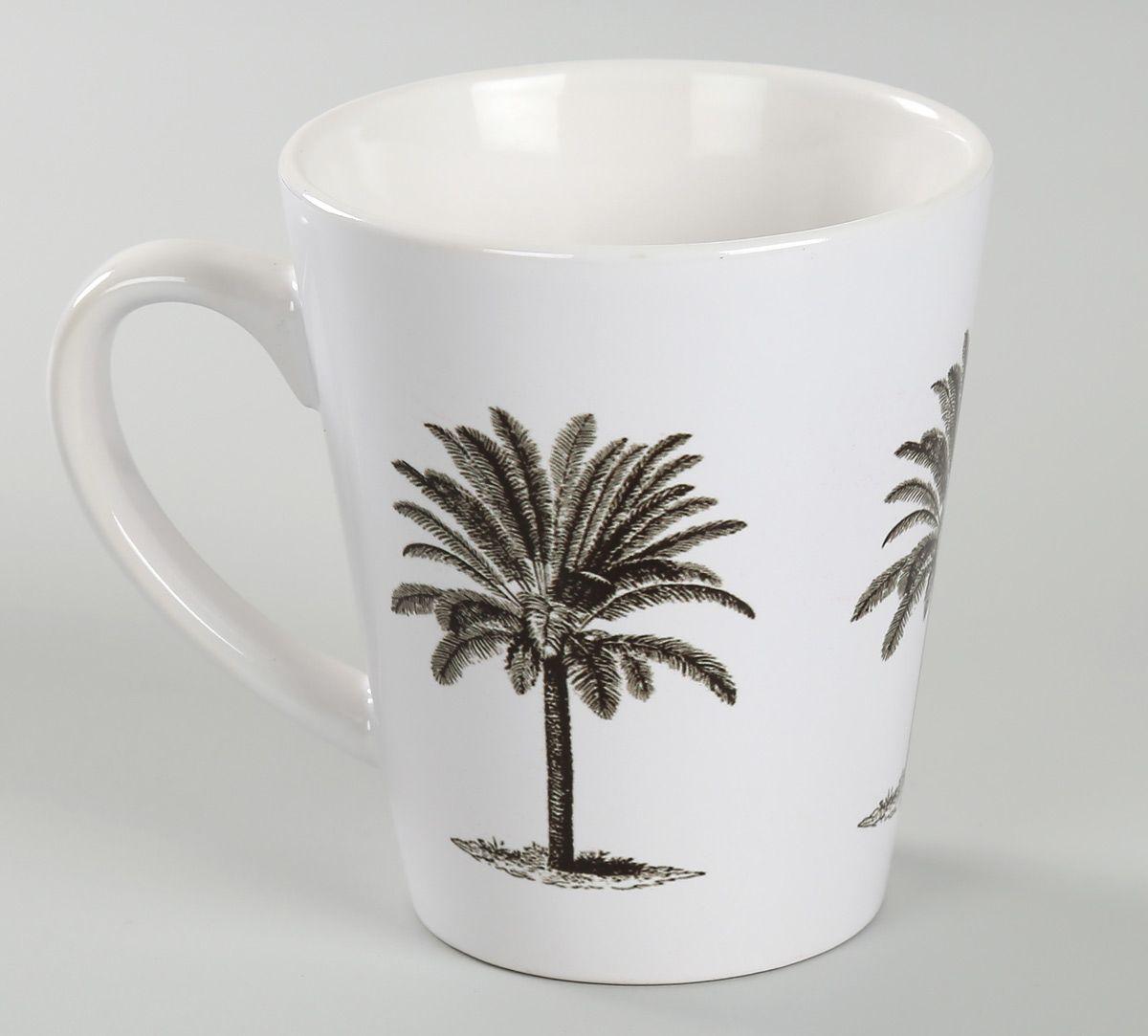 India Circus Palm Parade Coffee Mug