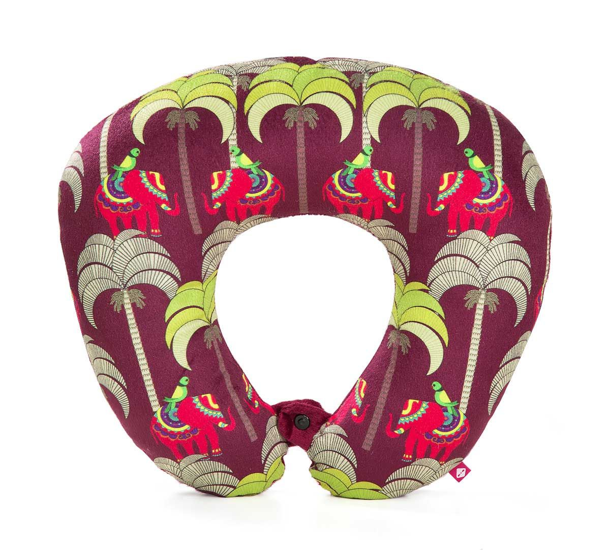 India Circus Palmeria Tusker Reiteration Neck Pillow