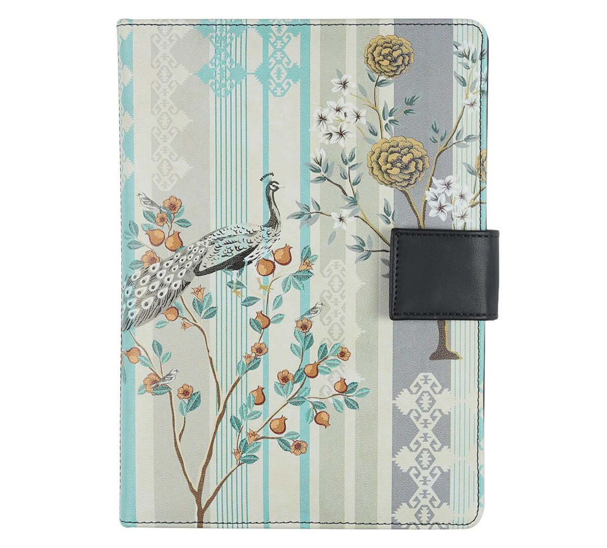 India Circus Peafowl Eclipse Notebook Planner