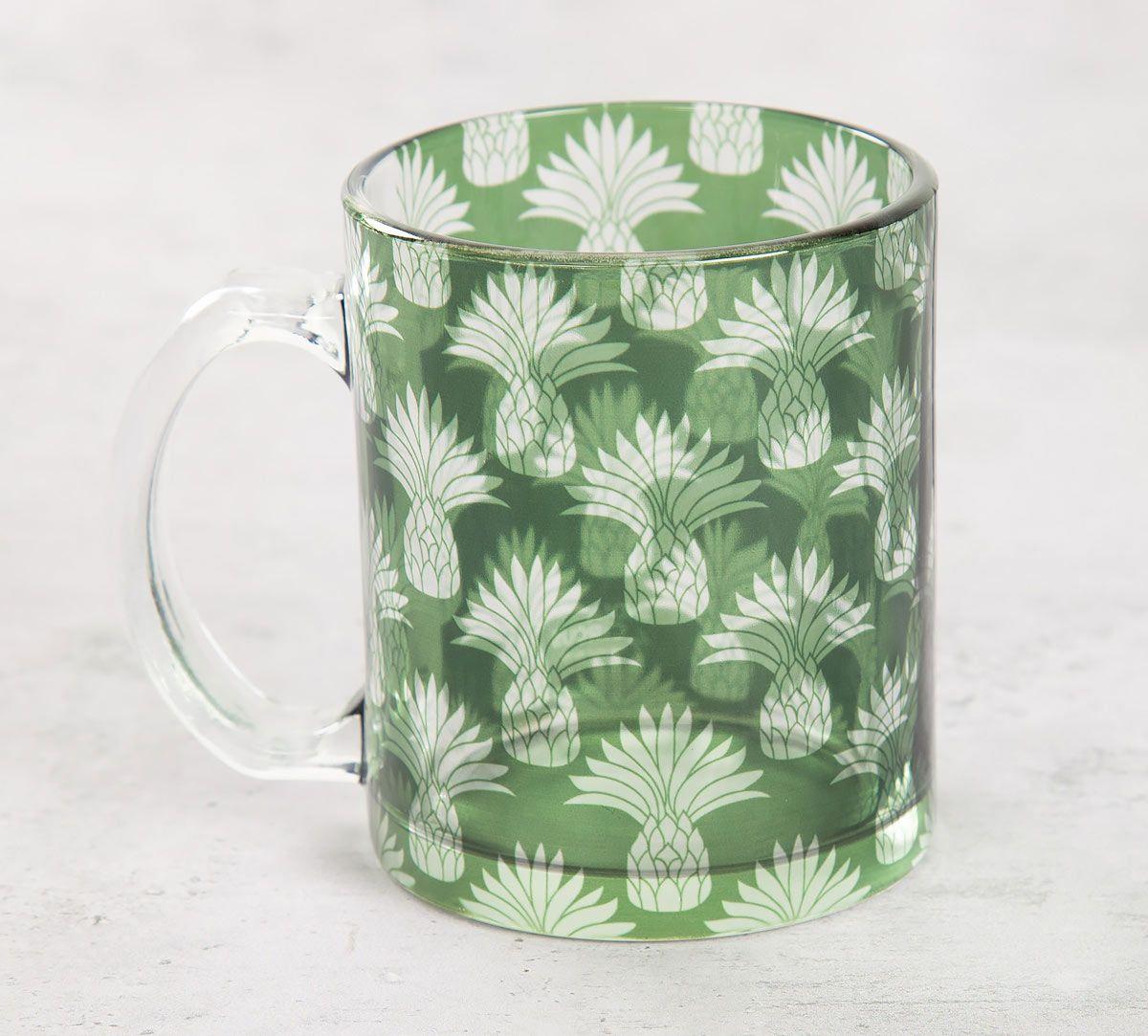 India Circus Pineapple Glass Mug