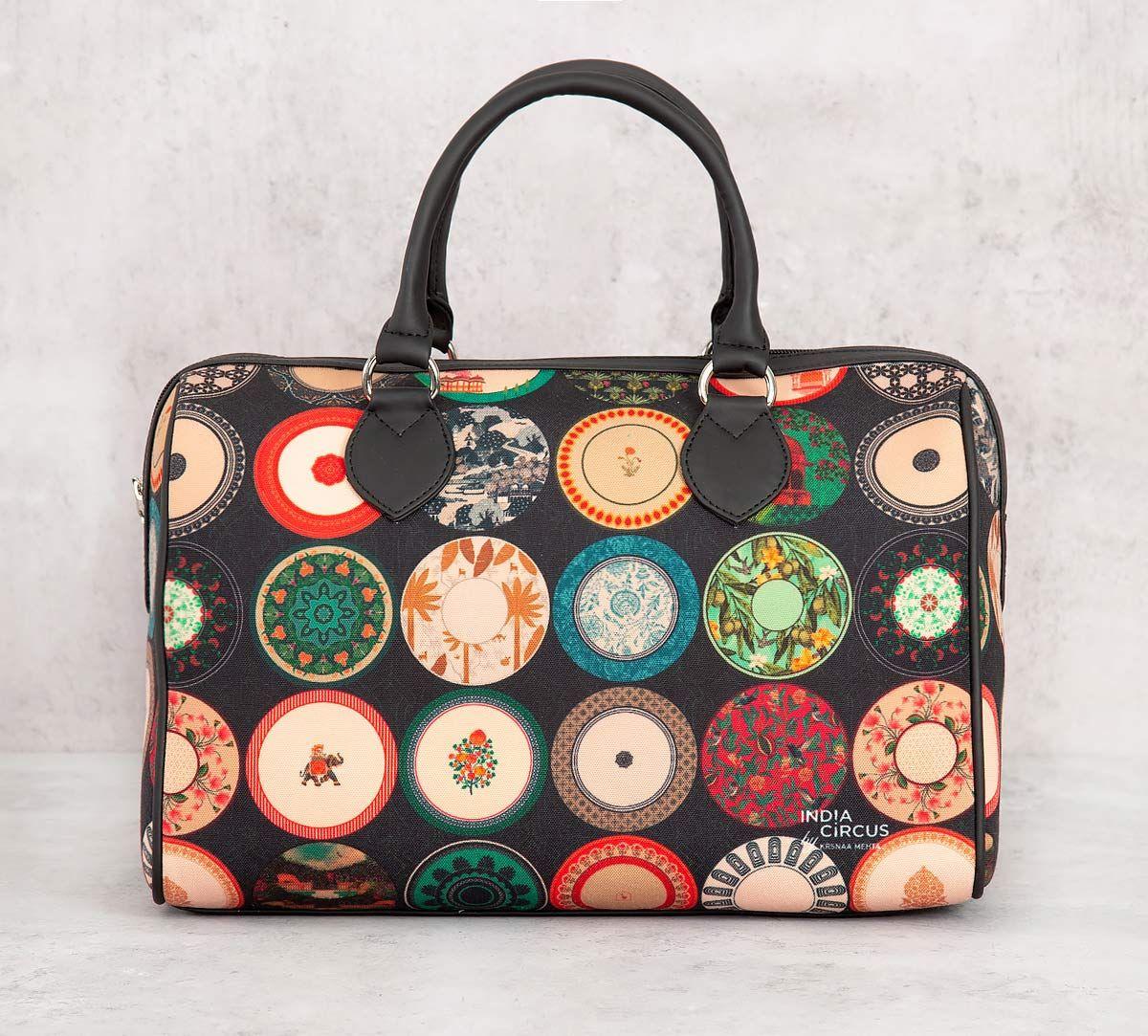 India Circus Platter Portrayal Duffle Bag