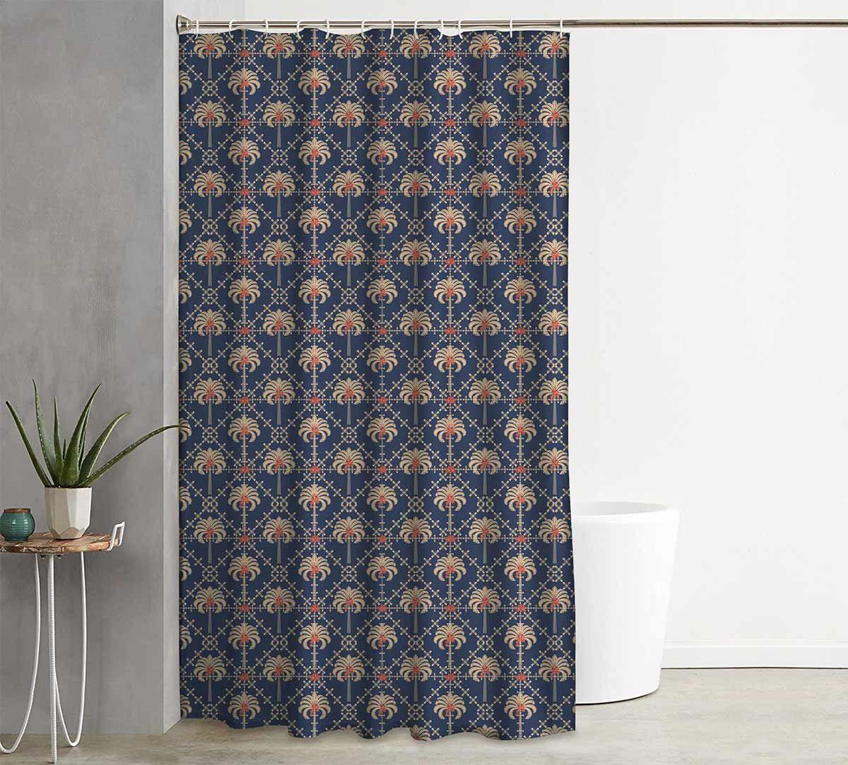 India Circus Poly Palmeria Shower Curtain