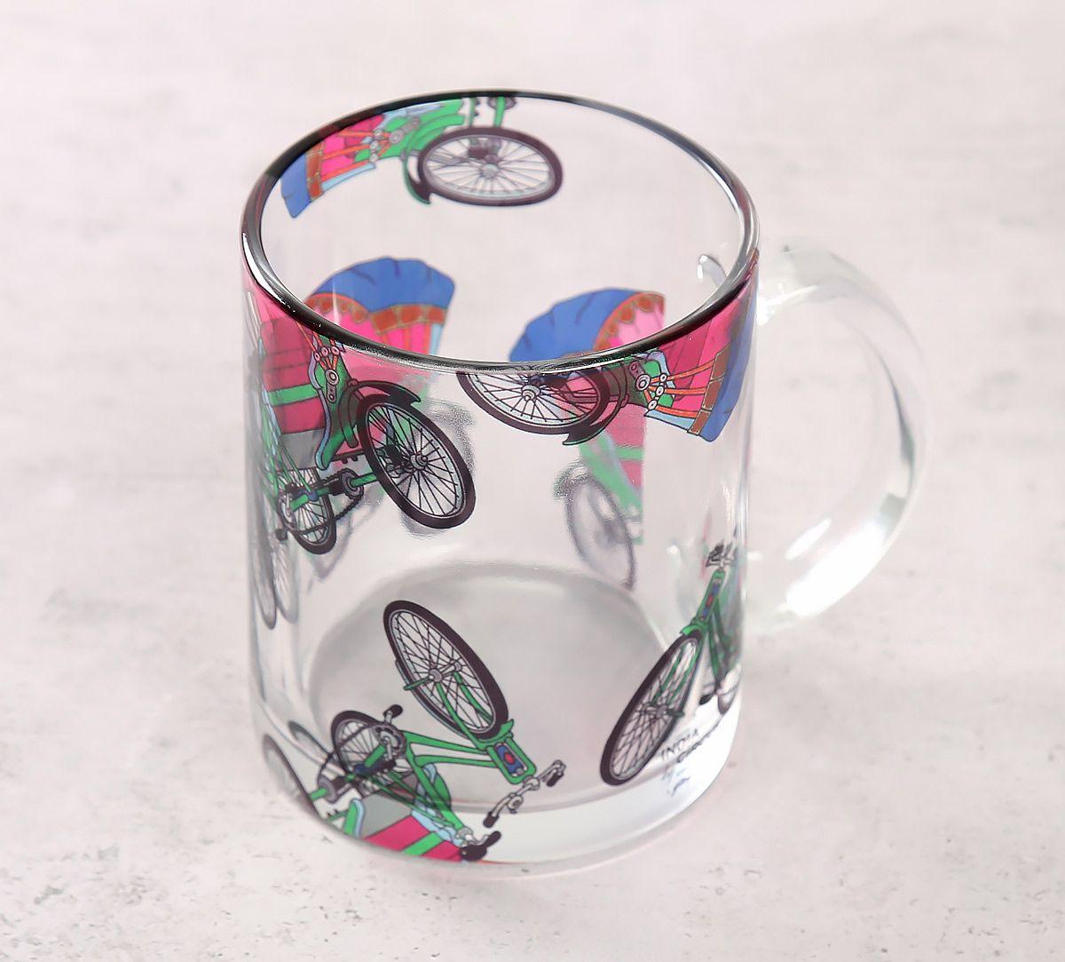 India Circus Pop Tanga Glass Mug