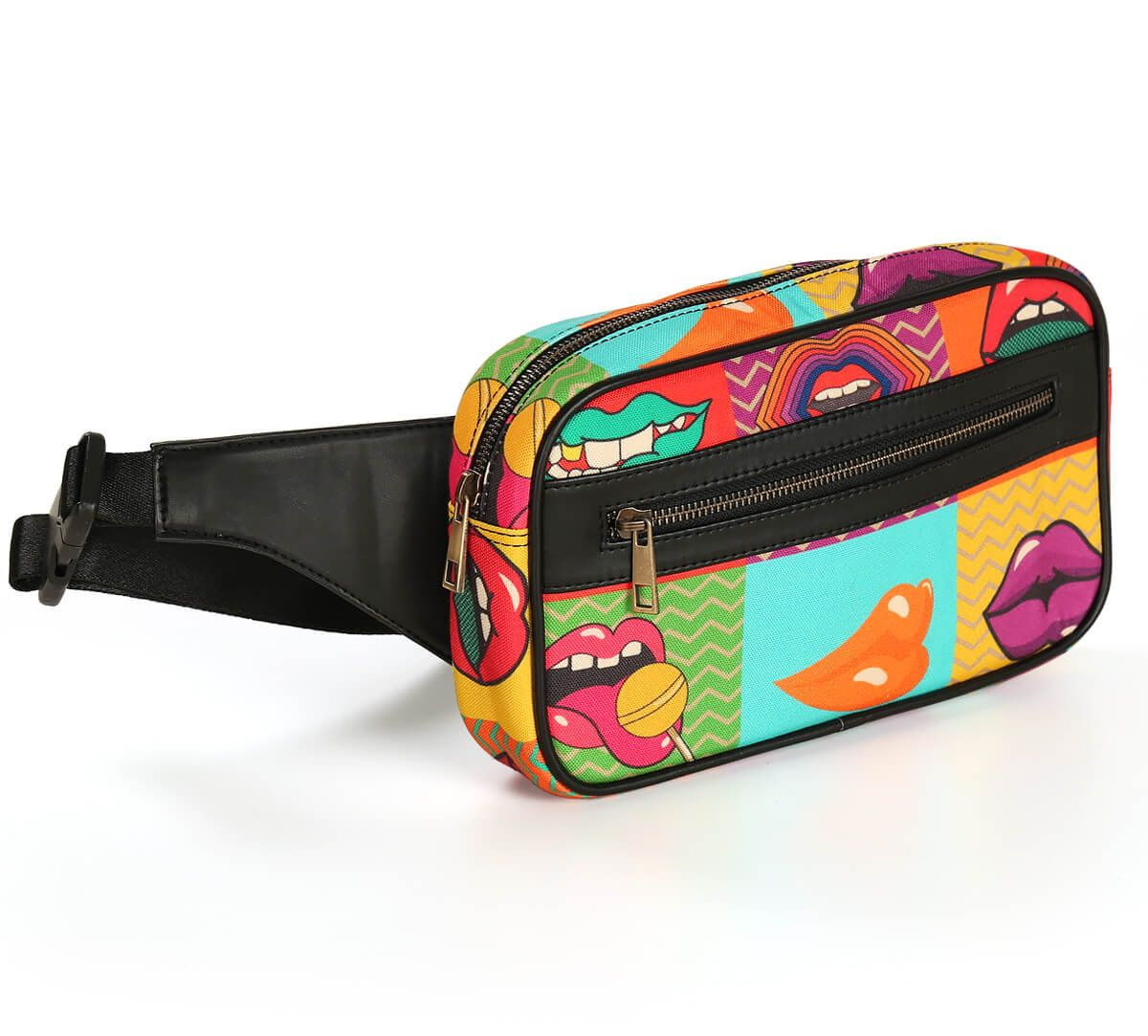 India Circus Popsicle Lips Belt Bag