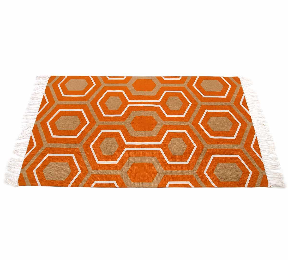 India Circus Prismatic Hexagons Rug