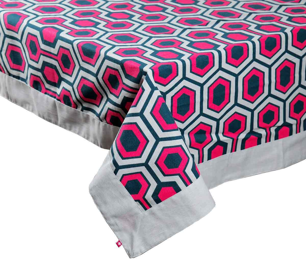 India Circus Prismatic Hexagons Table Cloth