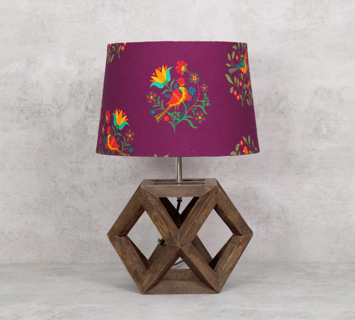 India Circus Psittacines Enquiry Table Lamp