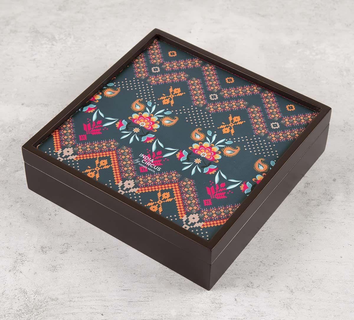 Rangoli Motifs Small Storage Box