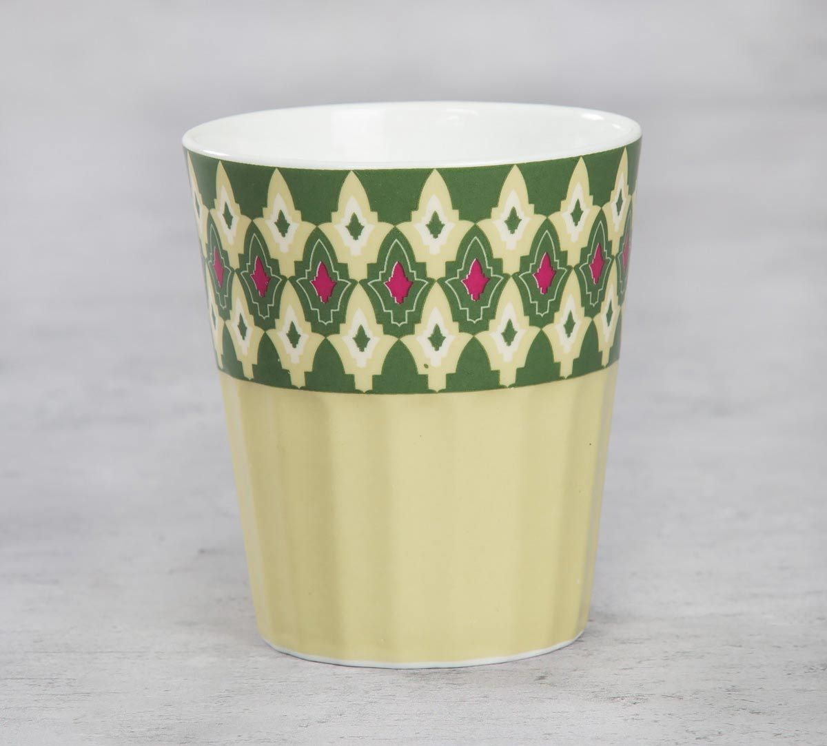 India Circus Rose Mallow Moscheutos Chai Glass