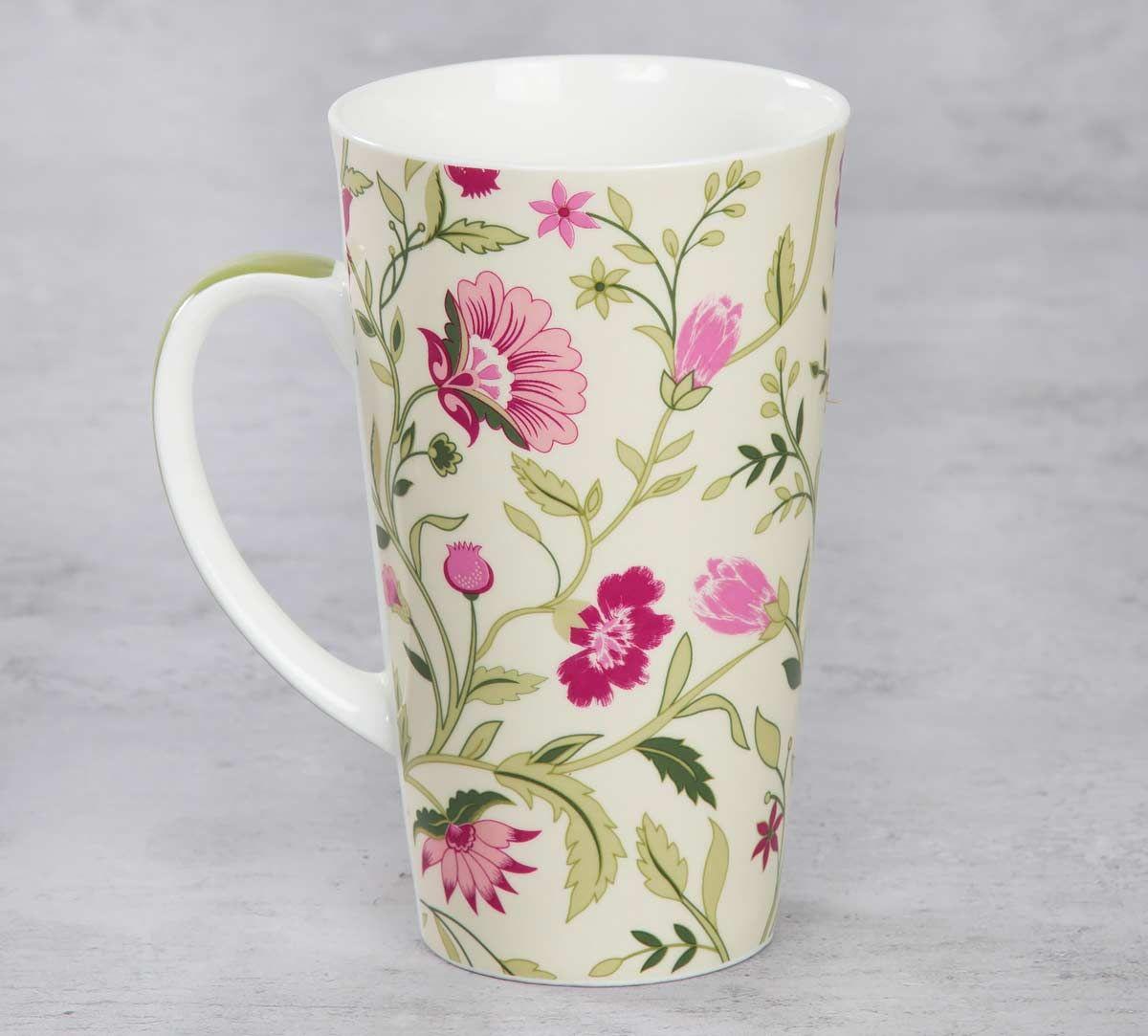 India Circus Rose Mallow Moscheutos Conical Mug