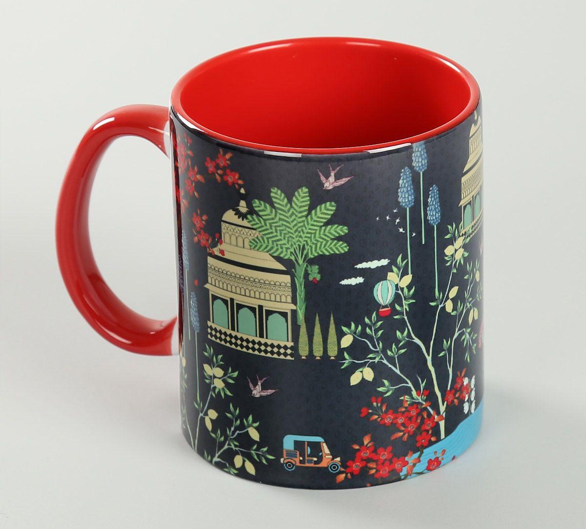 India Circus Royal Lotus Temple Coffee Mug