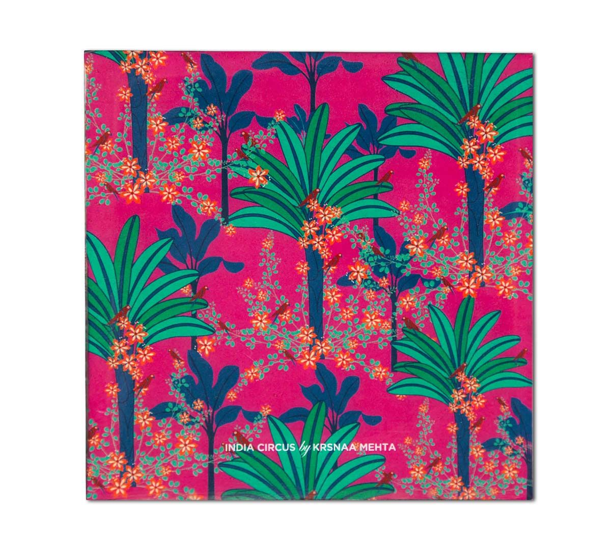India Circus Royal Palms Table Coaster
