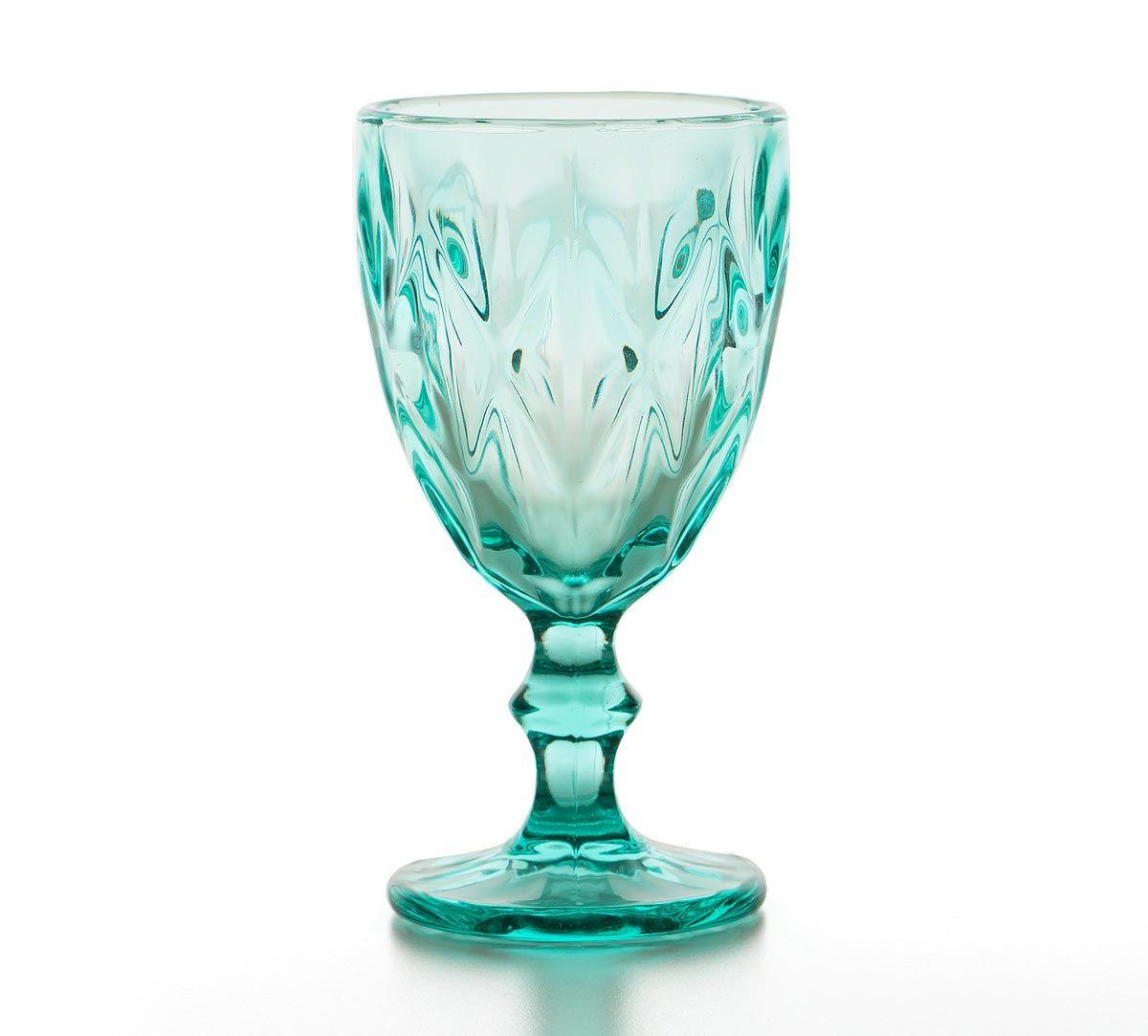 India Circus Sassy Salute Wine Glass