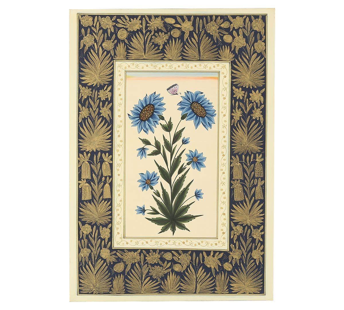 India Circus Sunflower Handmade Poster