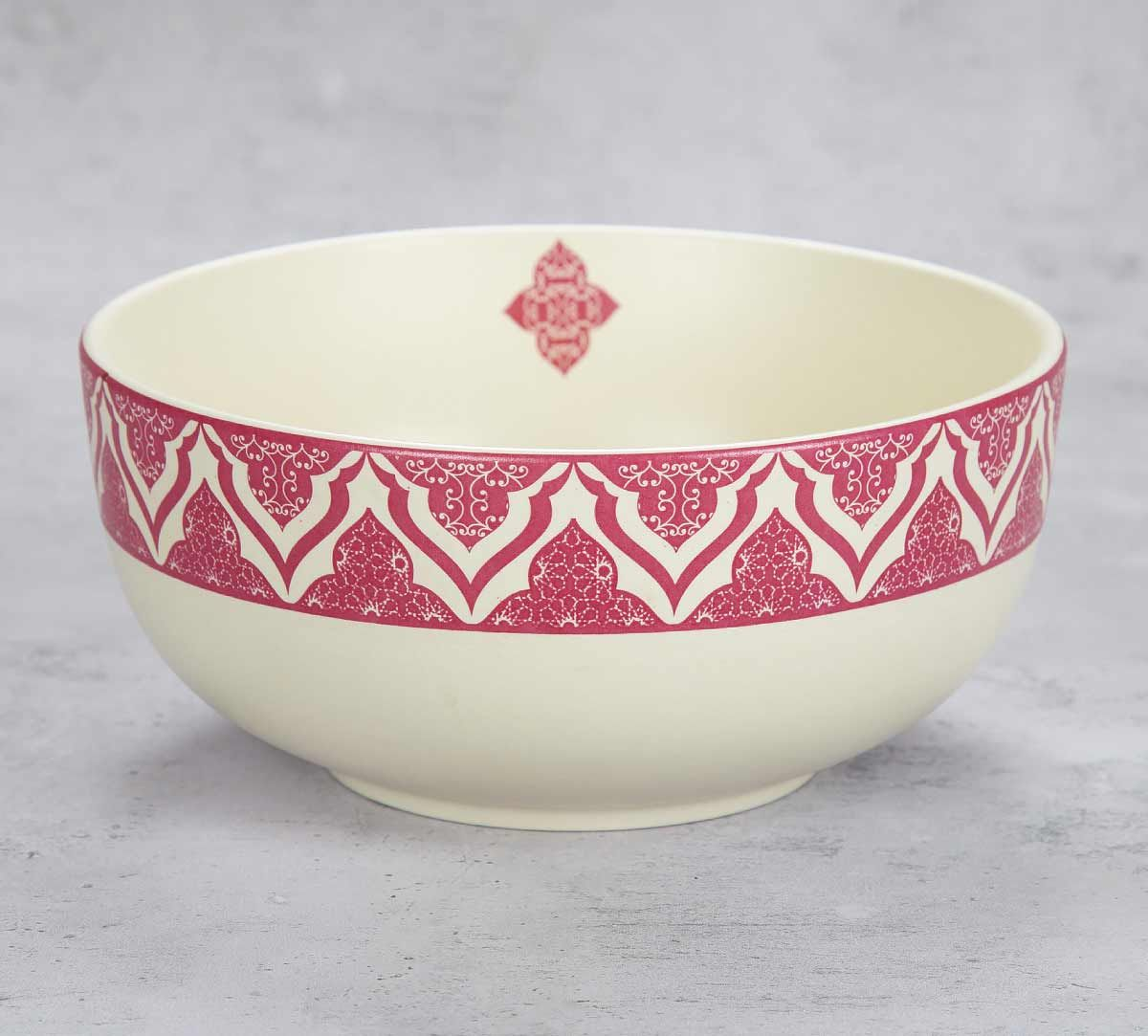India Circus The Morning Glory Serving Bowl