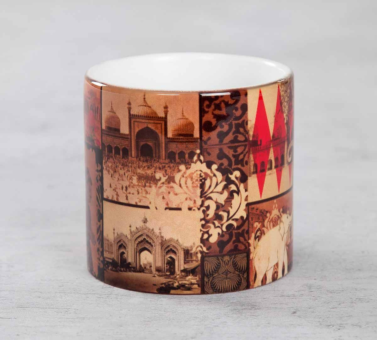 India Circus The Mughal Era Coffee Mug Small