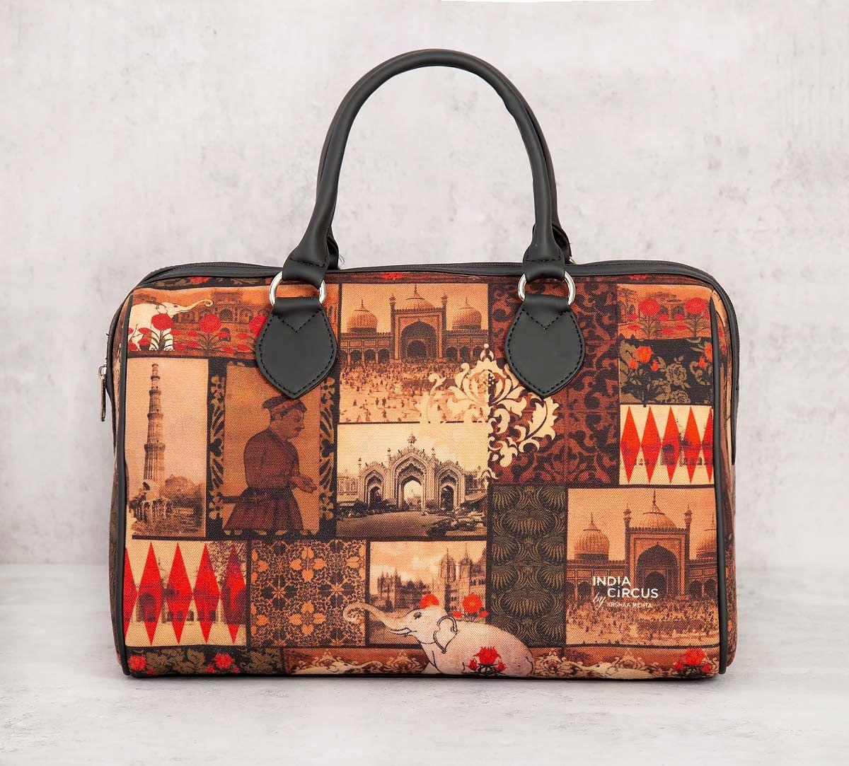 India Circus The Mughal Era Duffle Bag