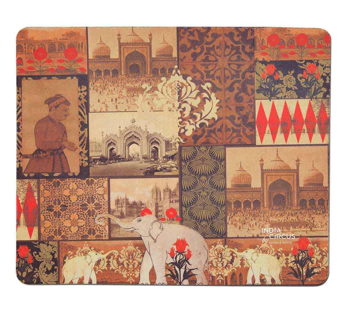 India Circus The Mughal Era Mouse Pad