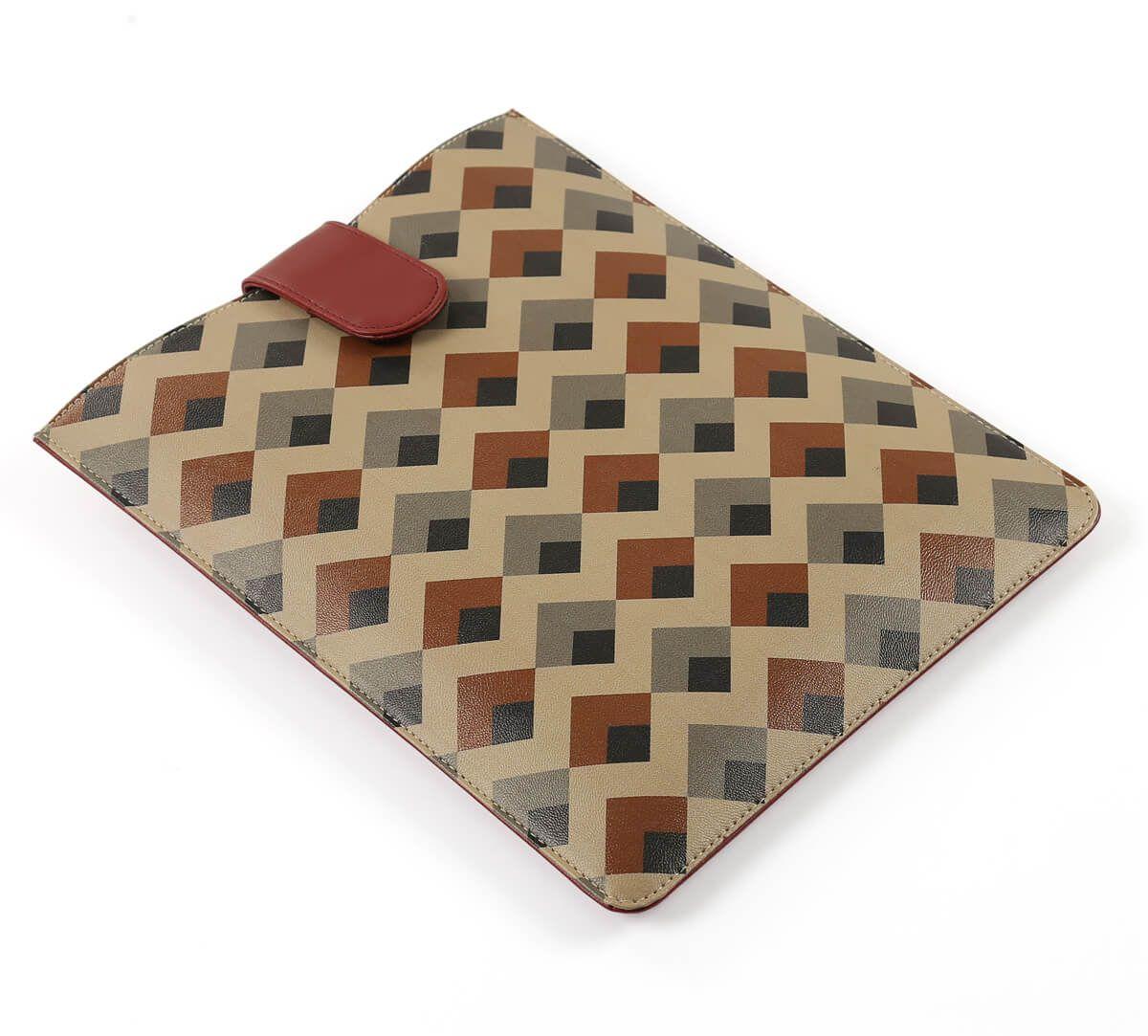 India Circus Tiled Penduncle iPad Sleeve