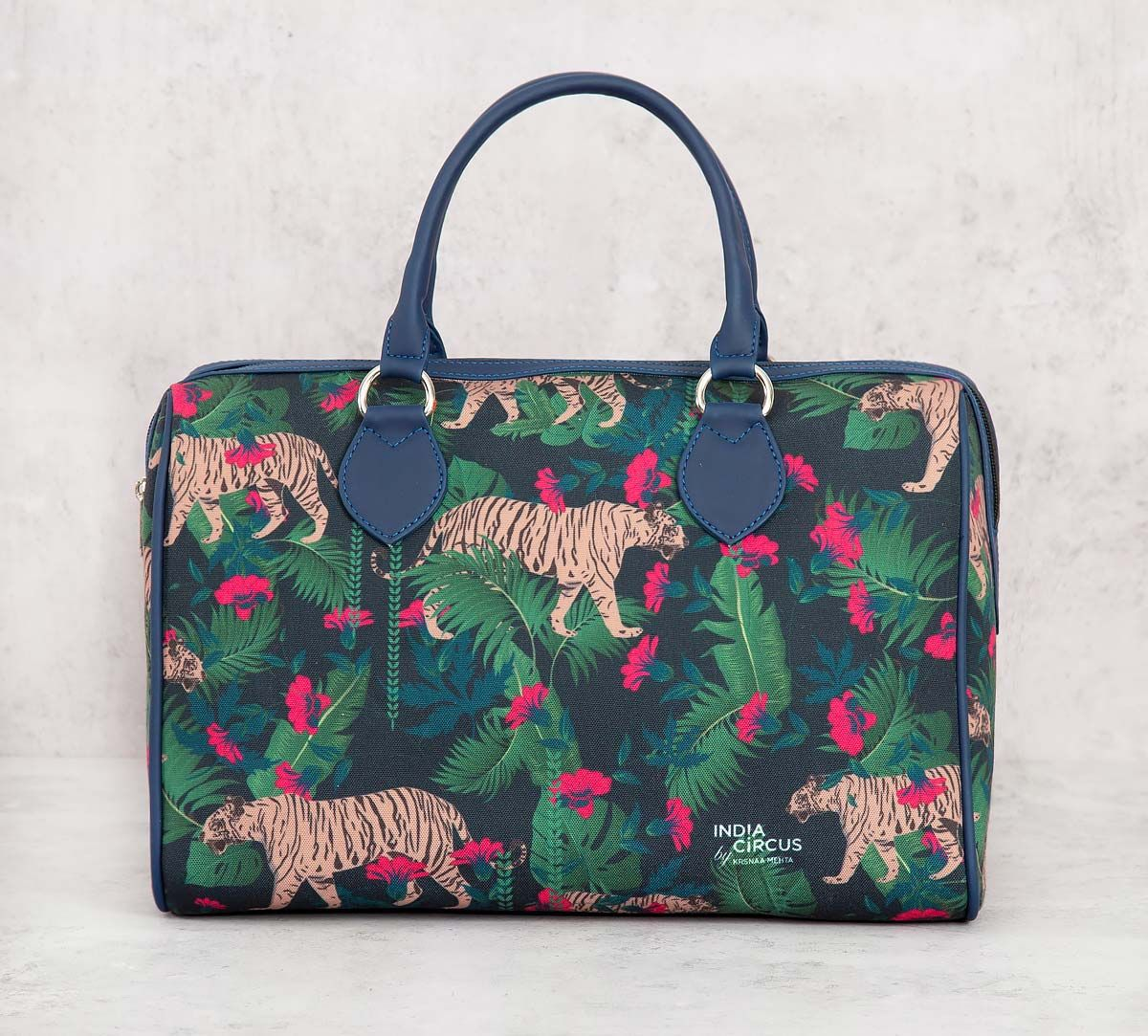 India Circus Tropical Tiger Duffle Bag