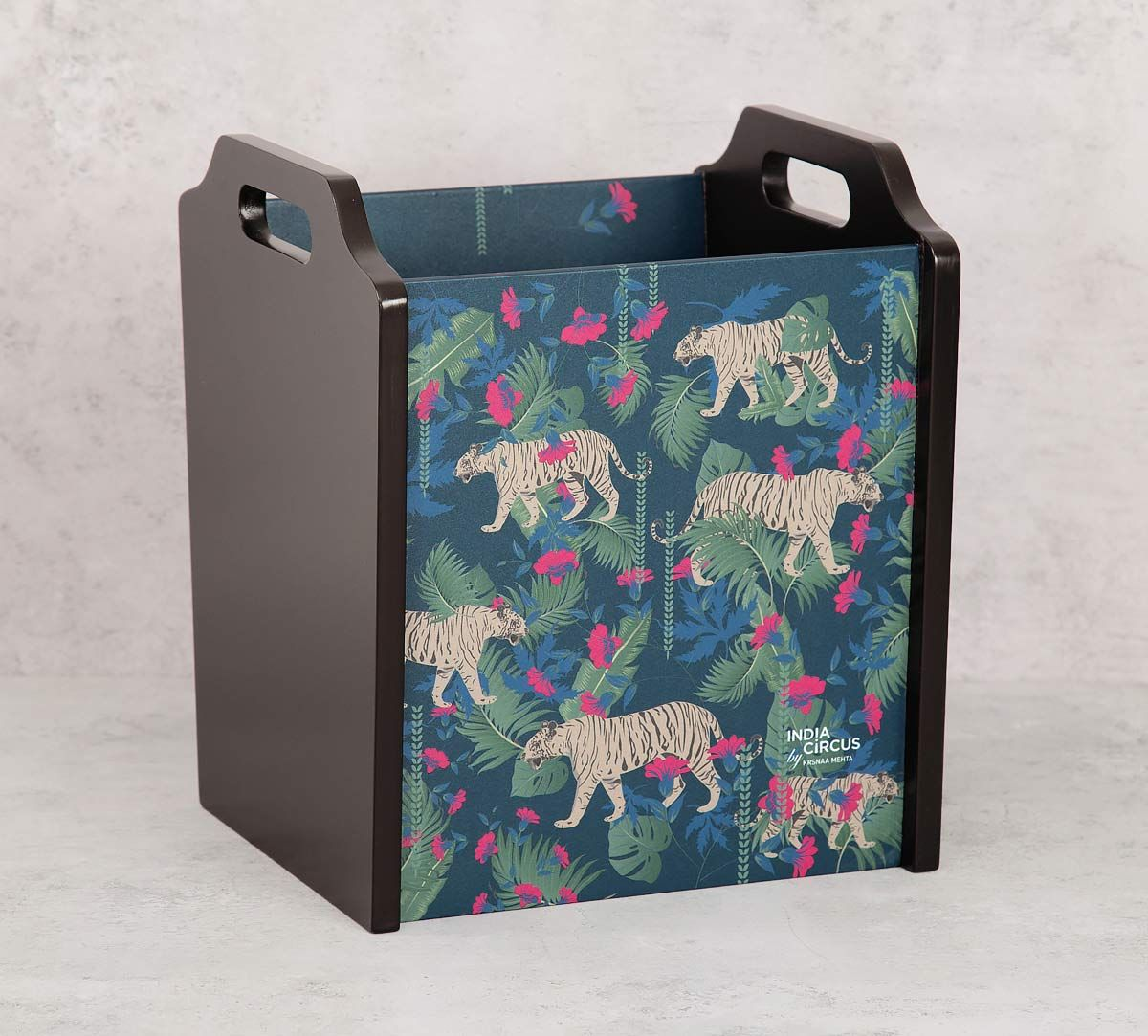 India Circus Tropical Tiger Magazine Holder