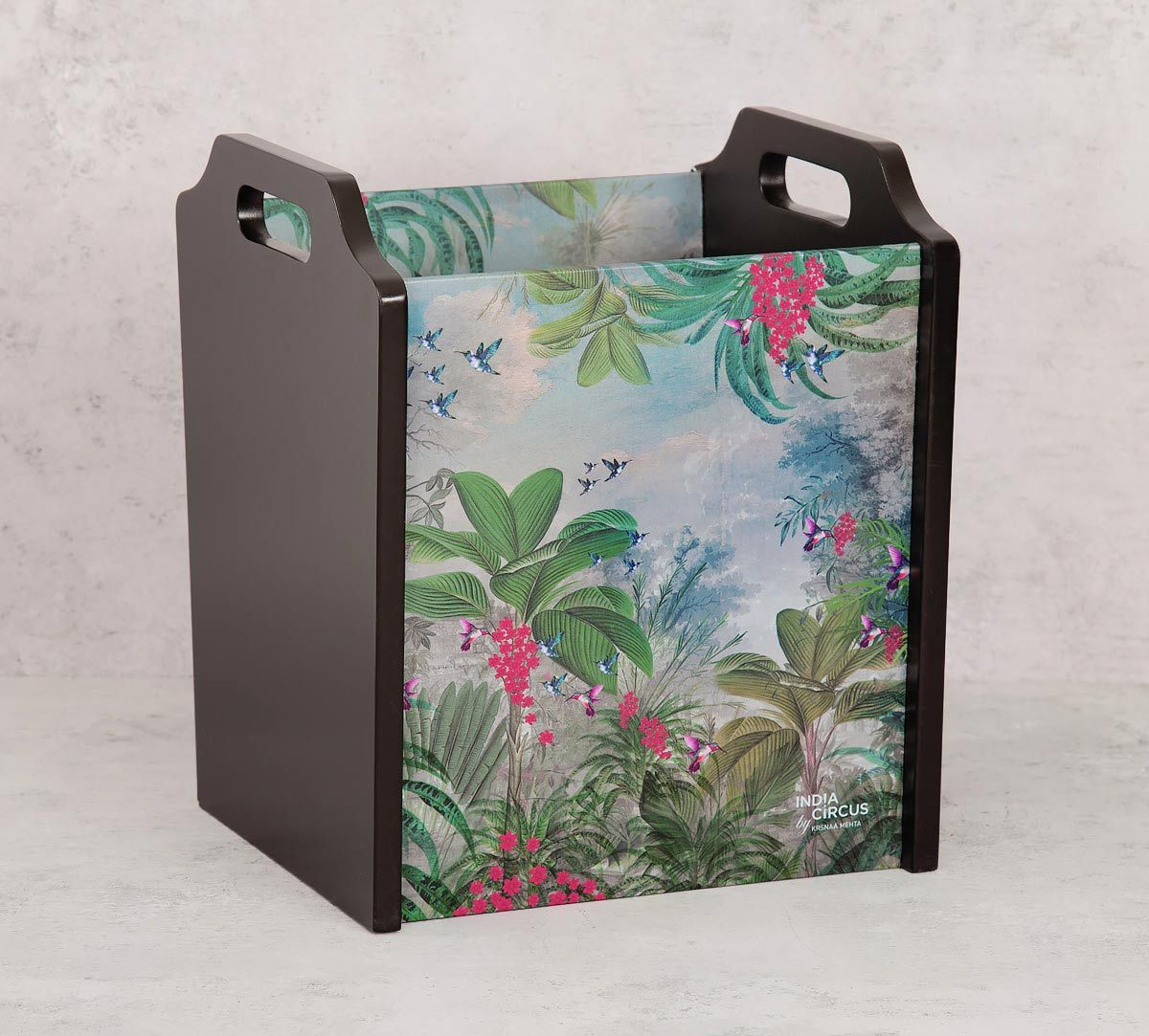 India Circus Tropical View Magazine Holder