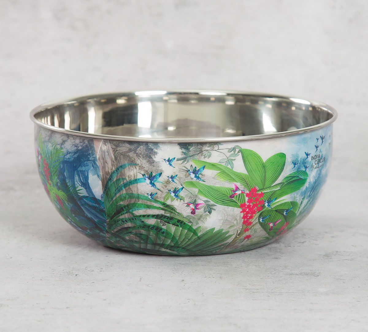 India Circus Tropical View Serving Bowl