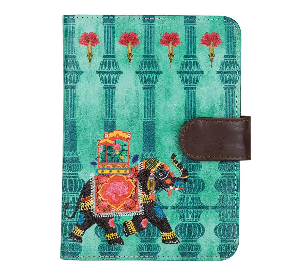 d2814d069 India Circus Tusker Chariot Passport Cover. Tap to expand