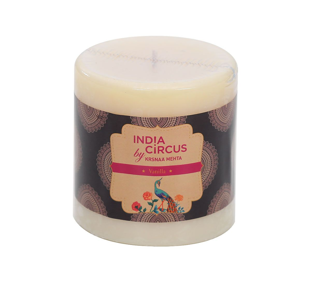 India Circus Vanilla Bean Drum Candle