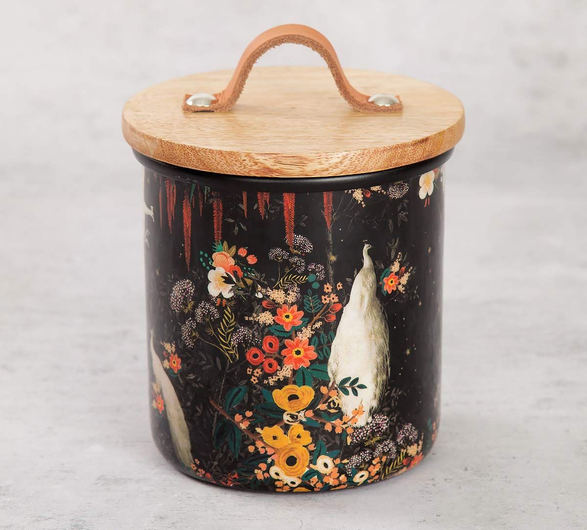 India Circus Vintage Spring Cookie Jar