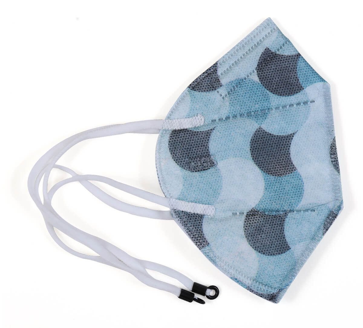 India Circus Wave Montage N95 Face Mask