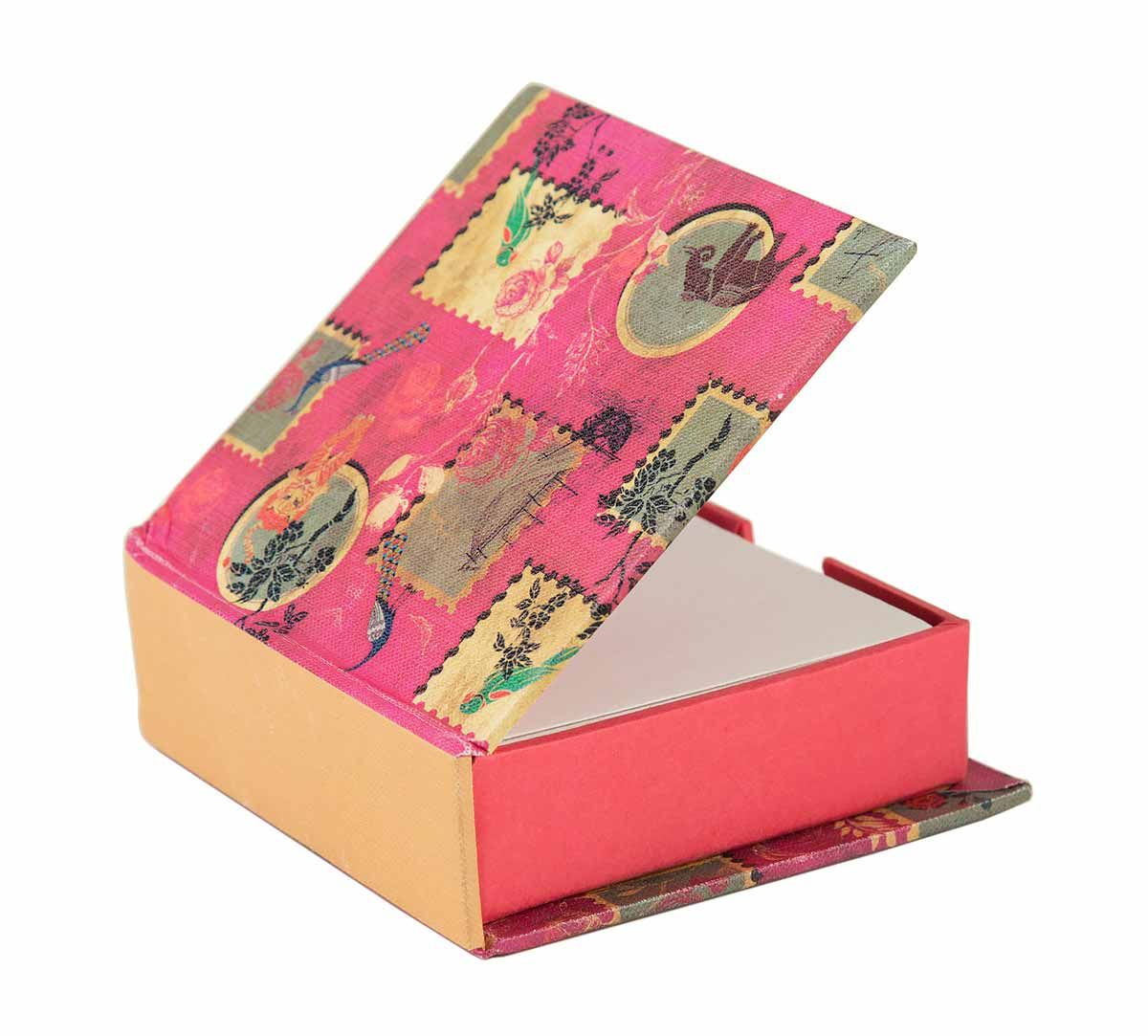 India Circus Wildlife Stamps Memo Pad Box