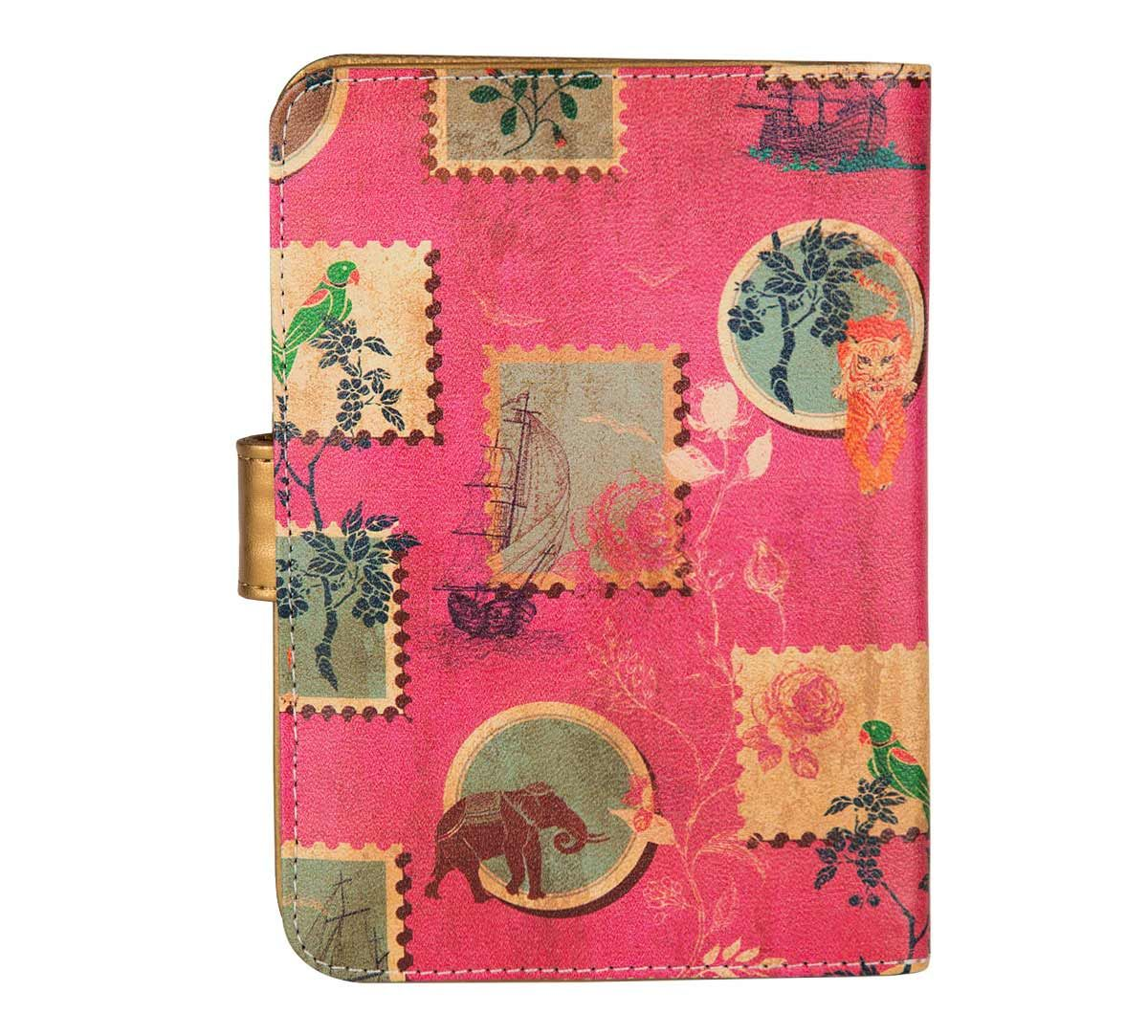 75dfe9b8c India Circus Wildlife Stamps Passport Cover. Tap to expand