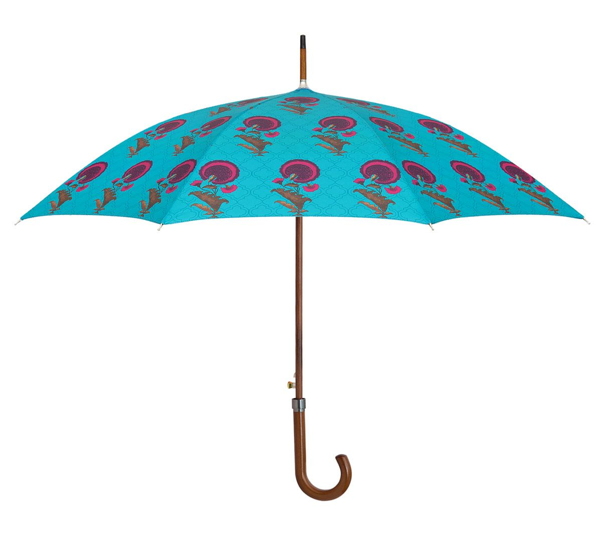 India Circus Yale Flower Regalia Umbrella