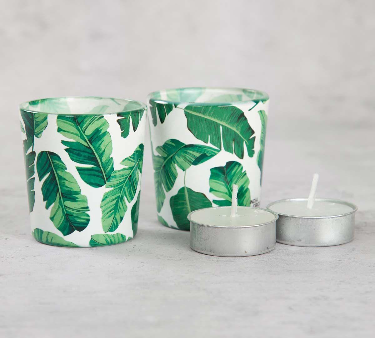 India Cirucs Pleasant Peduncle Tea Light Holder Set of 2