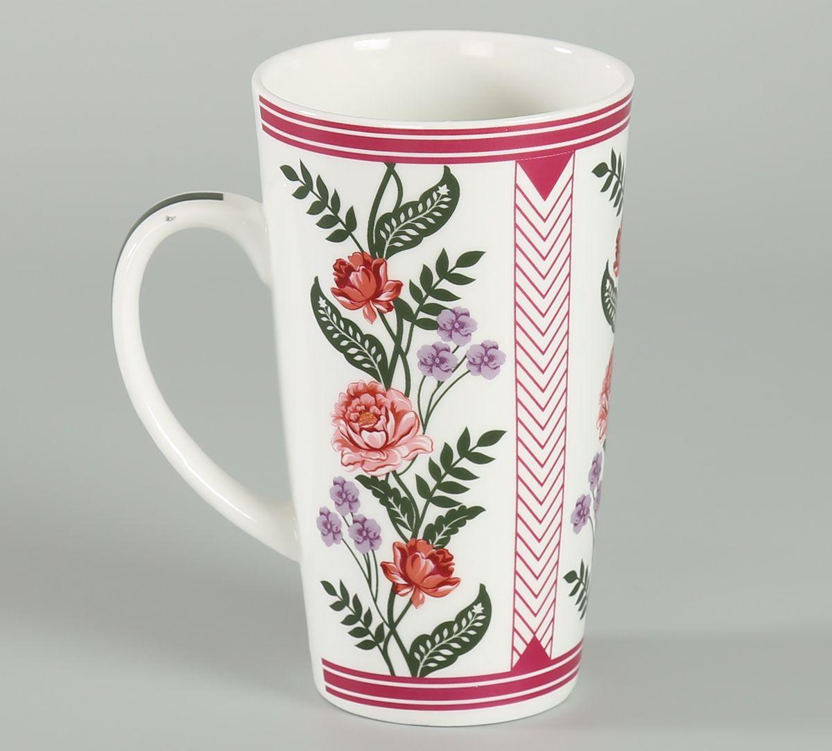 India Circus Verdure Mystery Conical Mug (Set of 2)