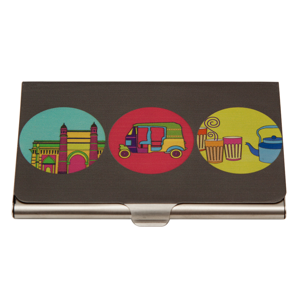India Vibrant Visiting Card Holder