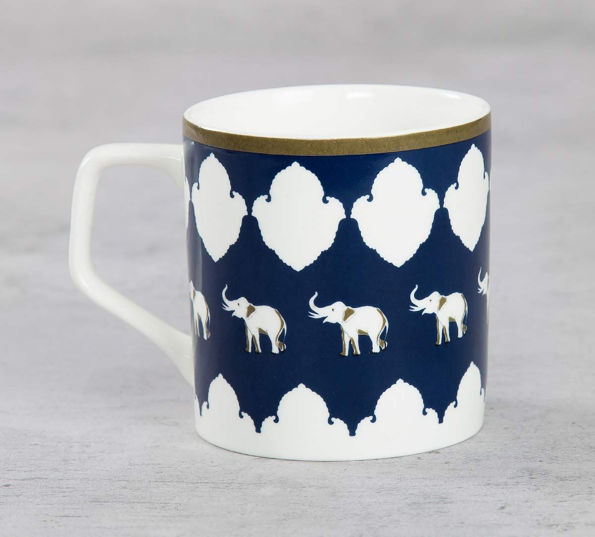 India Circus Ivory Parade Fantasy Mug