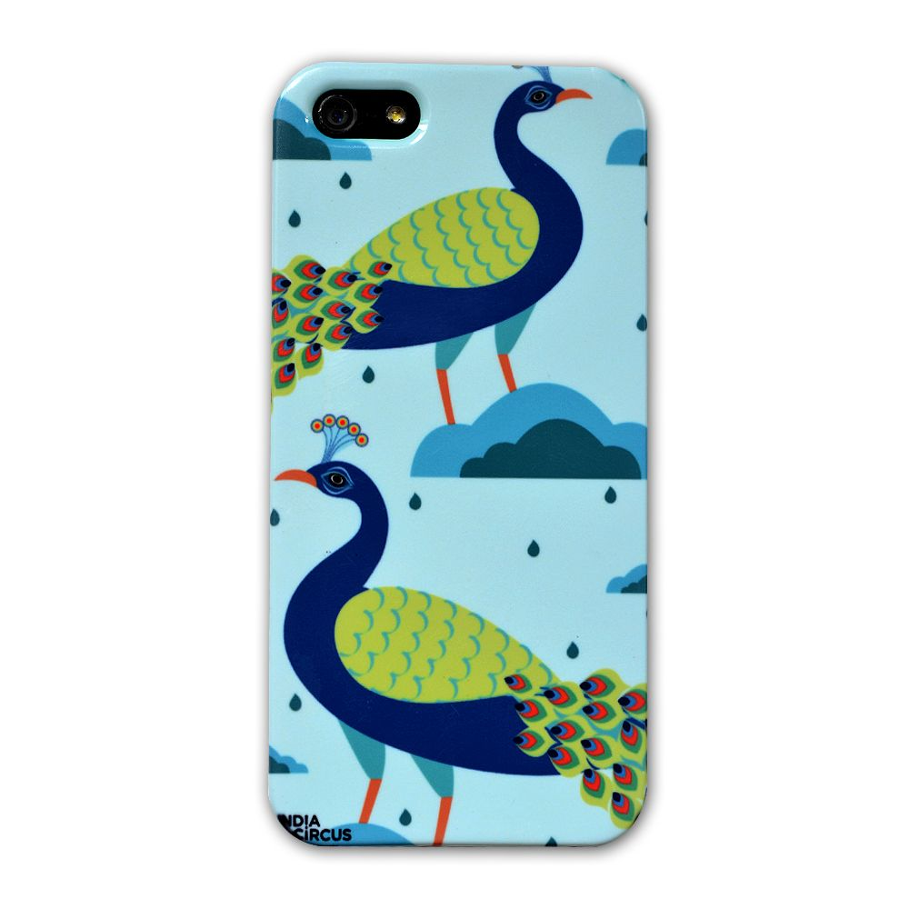 Jalebi Blue Lagoon Peacocks iPhone 5 Case